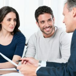Couple Meeting with Investment Advisor